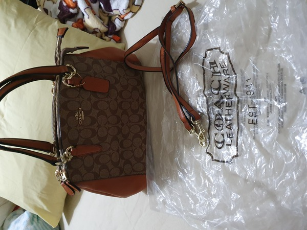 Used Coach two way bag in Dubai, UAE