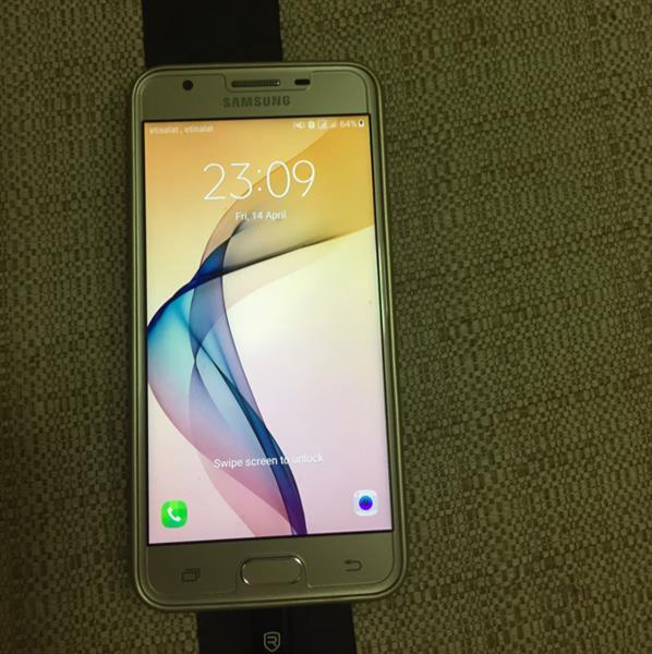 Used Brand New Samsung J5 Prime Dual Sim Phone With 1 Year Samsung Warranty And With All Accessories, Free Back Cover And Screen Protector, Less Than 1 Week Used in Dubai, UAE