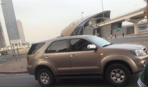 Used #Fortuner #car#4 Cylinder #price Negotiable#RTApassingdone#singlehandled#wellmaibtaibrx  in Dubai, UAE