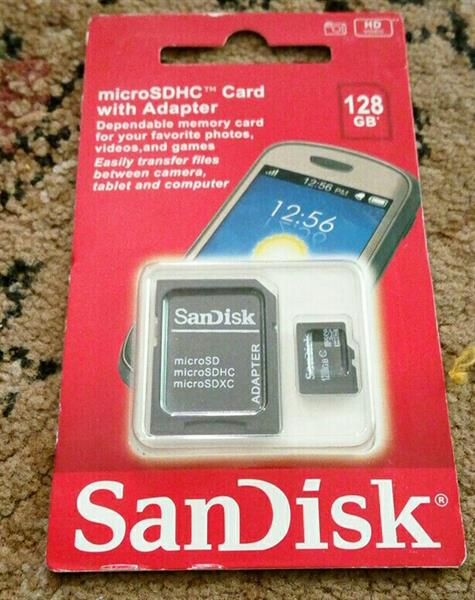 Used SanDisk 128gb Sd Card Class 10 in Dubai, UAE