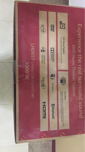 Used LG LHD657 Home Theatre System New in Dubai, UAE