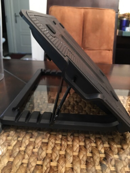 Used Laptop fan/cooler stand with USB  in Dubai, UAE