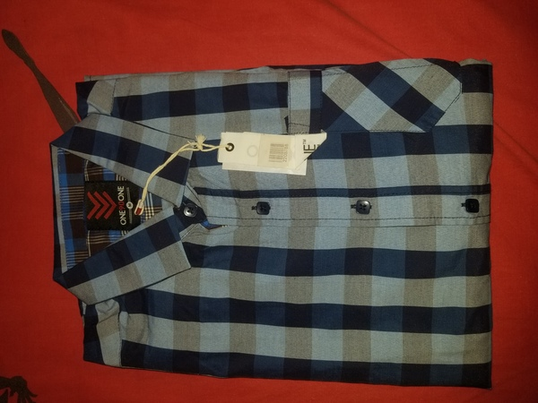 Used One 90 One Dark blue Shirt in Dubai, UAE