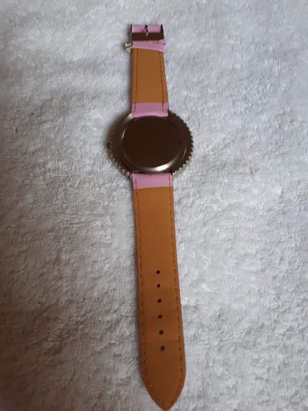 Used Watch yellow with pink combination in Dubai, UAE