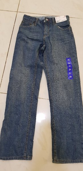 Used Kids jeans for H145cm~150cm/W58~64cm in Dubai, UAE