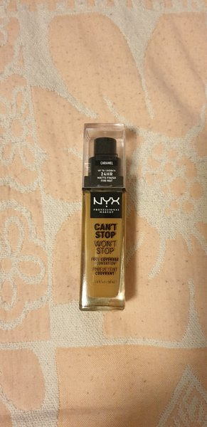 Used NYX Can't Stop Won't Stop foundation in Dubai, UAE