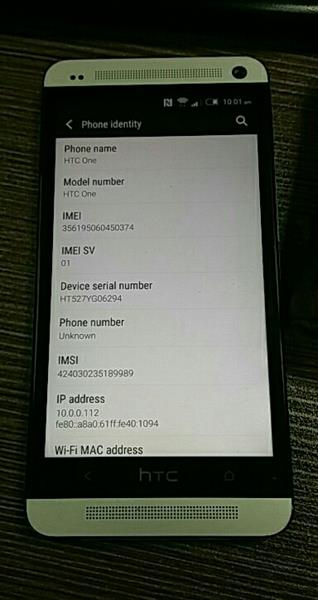 Used HTC one 64gb/2gb good condition  in Dubai, UAE