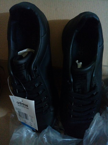 Used Full Black SS Adidas Shoes Size 42 in Dubai, UAE