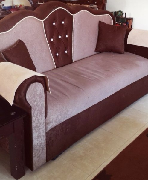 Used Corner Sofa about 12 seats with 2 coffee in Dubai, UAE