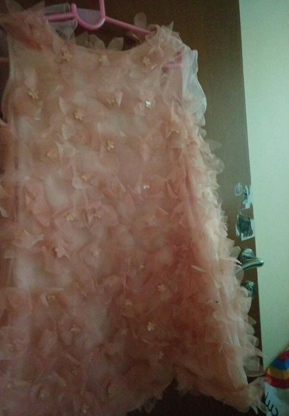 Used Beautiful Girl dress with free ballerin in Dubai, UAE