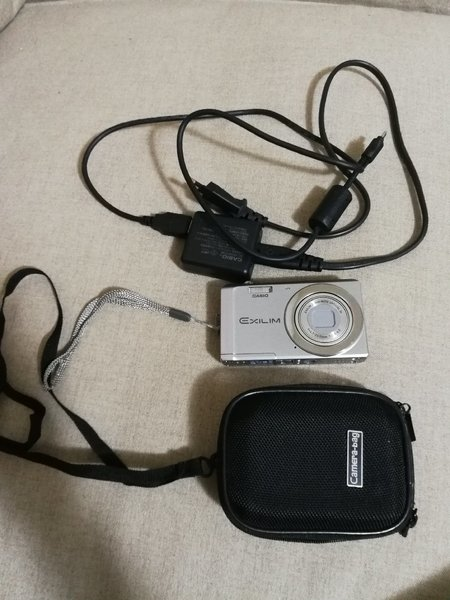 Used Casio camera with case and charger in Dubai, UAE