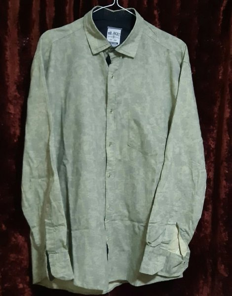 Used Green Shirt from Mr.Jack and Co in Dubai, UAE