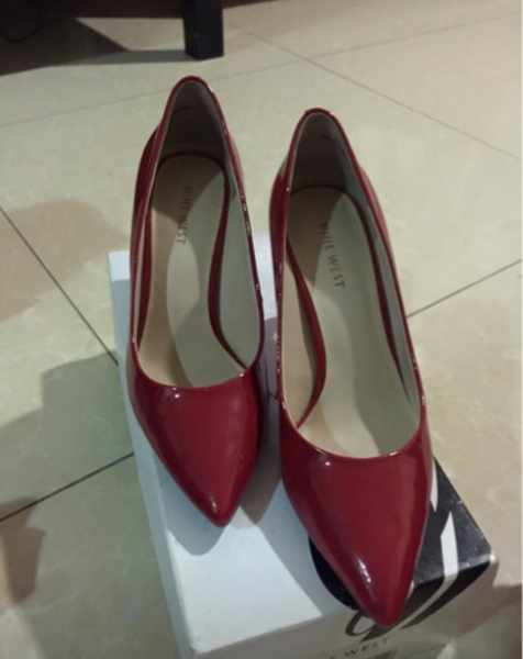 Used Nine West - Gorgeous Red shoes - size 6. in Dubai, UAE