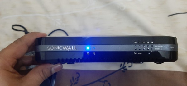 Used Sonicwall soho security device in Dubai, UAE