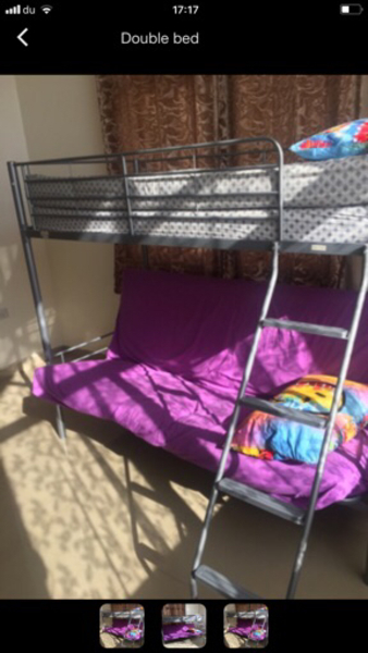 Used Double bed in Dubai, UAE