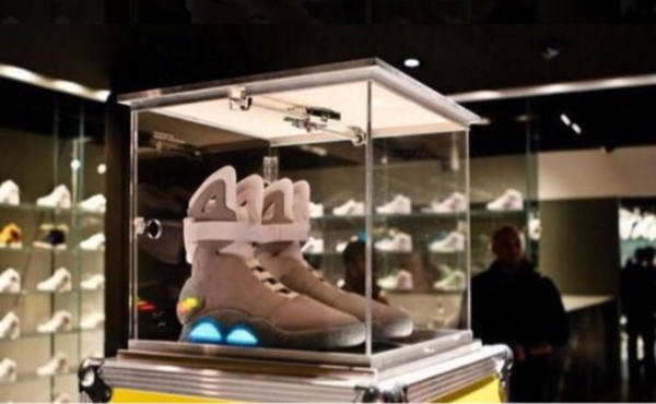 Used Air Mag Back to the Future sneakers V3 in Dubai, UAE