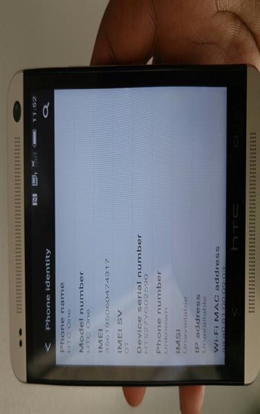 Used HTC ONE 64GB ROM 2GB RAM LOOK LIKE NEW ONLY MOBILE NO ACCESSORIES in Dubai, UAE