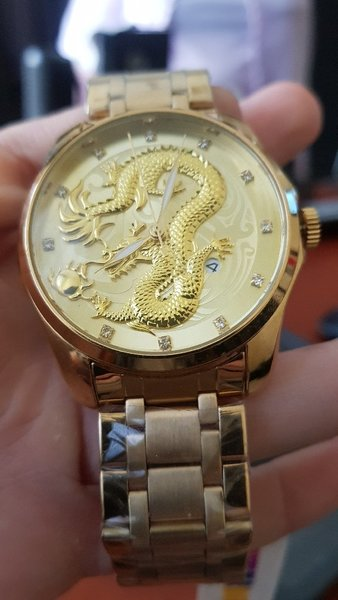 Used DRAGIN GOLD WATCH FOR Lucky buyer♥️ in Dubai, UAE