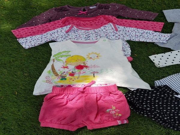 Used #babygirl #clothes #bundle #3to6momths # in Dubai, UAE