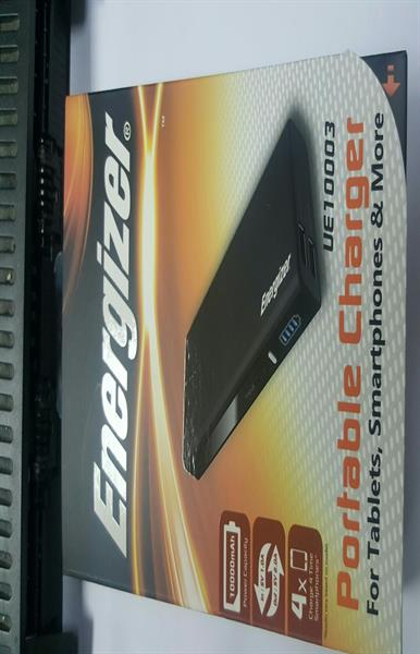 Energizer  powerbank  4times  mobile can full charge