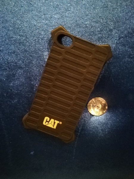Used Caterpillar iPhone 5/5S Case Black in Dubai, UAE