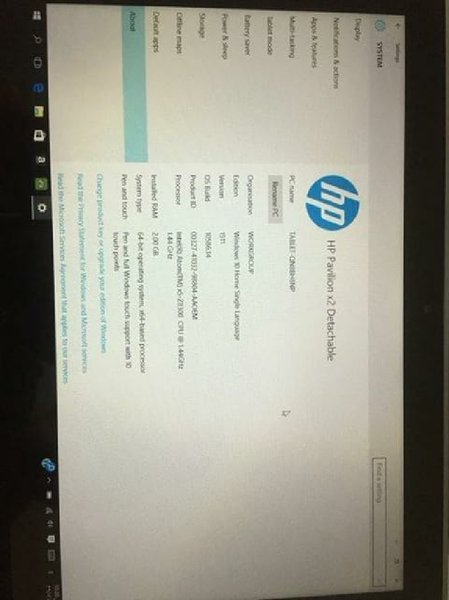 Used Hp pavilion x2 in Dubai, UAE