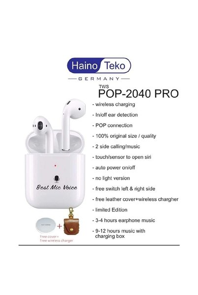 Used NEW POP-2040PRO: WIRELESS AIRPODS 🎧 in Dubai, UAE