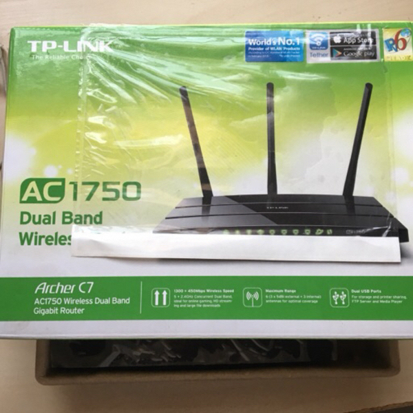 Used TP Link AC1750 Wireless Router NEW in Dubai, UAE