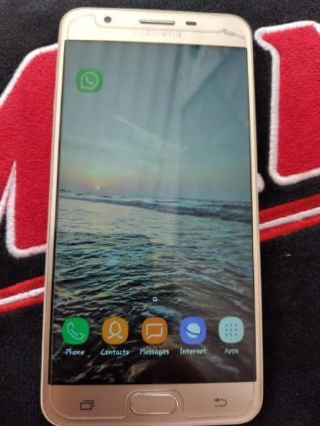 Used SAMSUNG J7 PRIME .ROSE GOLD .. in Dubai, UAE