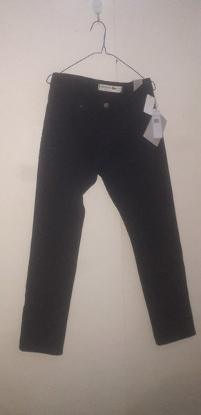 Used Men's Slim Fit Stretch Lacoste Pants in Dubai, UAE