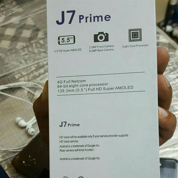 Used J 7 Prime Gold Brand New Only Open Box Check Mobile And All Accessories Korean Virsion  bel in Dubai, UAE