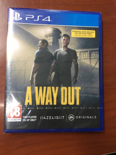 Used THE WAY OUT relese this month 20/3/2018 in Dubai, UAE