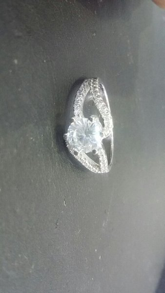 Italian silver 925 Ladies Ring size US 7