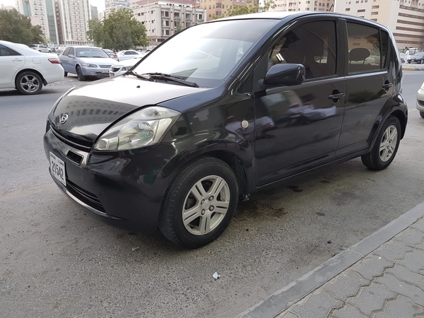 Used daihatsu sirion model two thaond and seven great condtion call afternoon at 5 pm in Dubai, UAE
