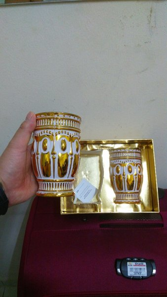 Used Golden VIP Cup With Pack, Not Used🎁 in Dubai, UAE