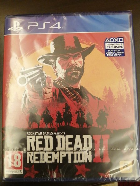 Used Red dead redemption 2 ps4.. New in Dubai, UAE