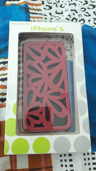 Used I phone5 phone case Original Crocs brand in Dubai, UAE