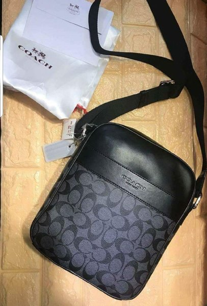 Used Brand New Coach Men Body bag in Dubai, UAE