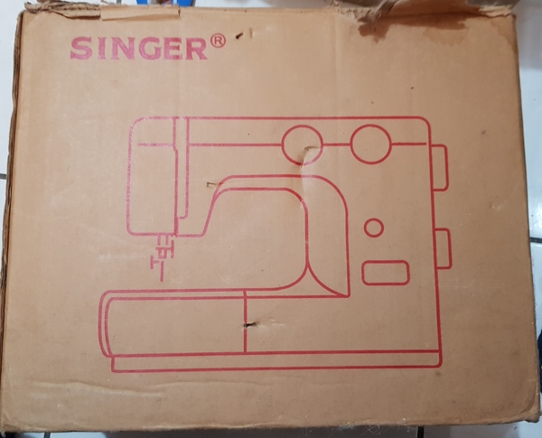 Used Singer sewing machine with box in Dubai, UAE