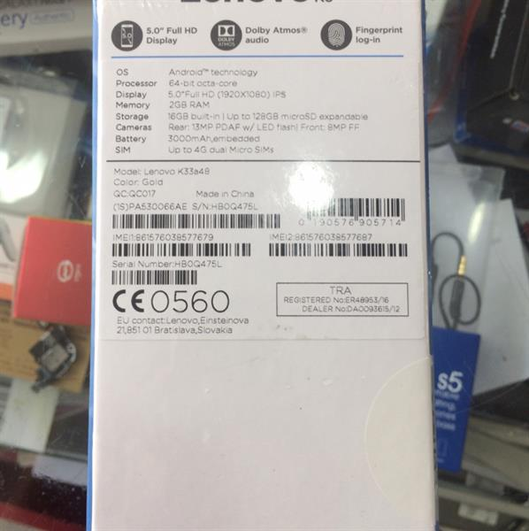 Used Lenove K6 Axiom Warranty  in Dubai, UAE