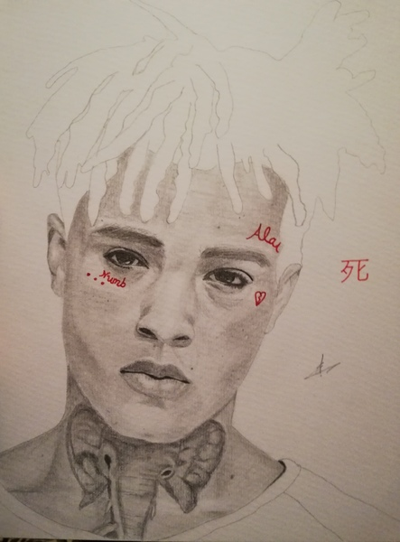 Used Graphite drawing: XXXTentacion in Dubai, UAE