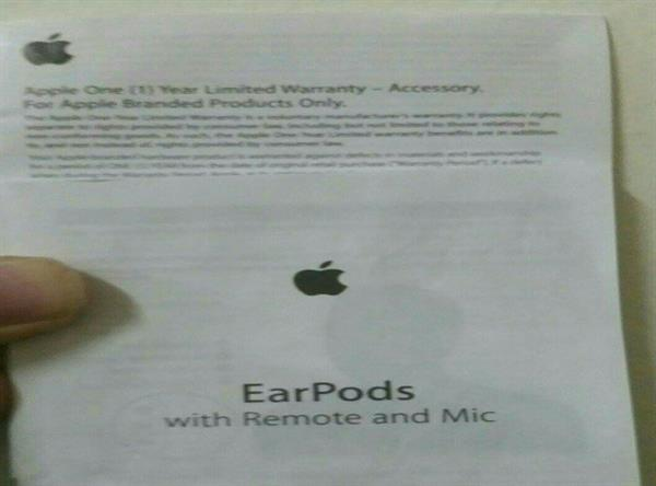 Apple Original Earpods with remote and mic