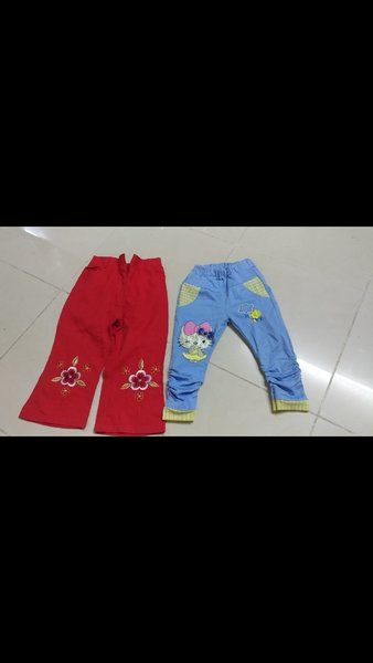 Used Bundle offer.. 3 trousers for kids in Dubai, UAE