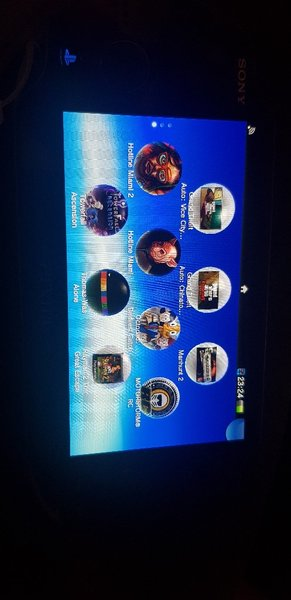 Used Ps Vita Memory Card - 8 GB - With Games in Dubai, UAE