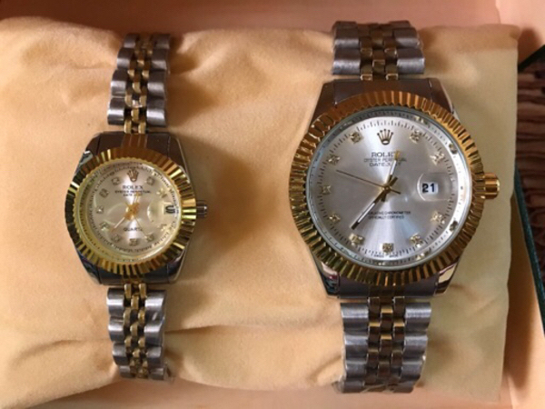 Used Couple Rolex wrist watch ⌚️  in Dubai, UAE