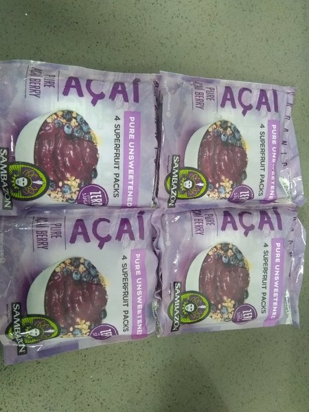 Used Sambazon Pure Acai Berry Puree in Dubai, UAE