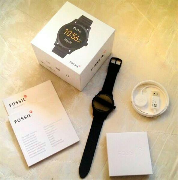 Used Brandnew Fossil Q Marshal Smart Watch (Complete Accesories) in Dubai, UAE