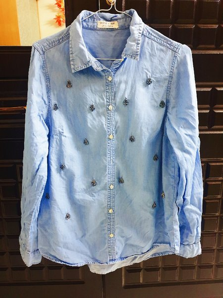Used Denim long sleeve tops(prelove) in Dubai, UAE