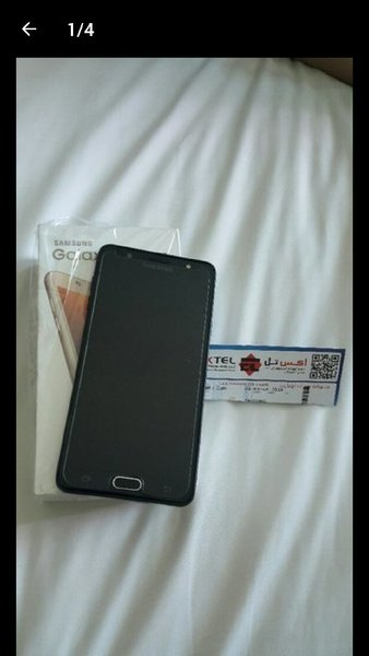 Used J7 max in Dubai, UAE