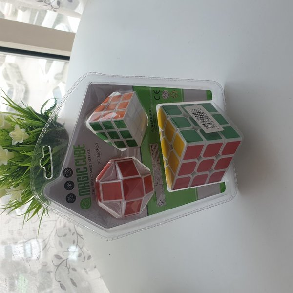 Used 3 in one rubik's cube and snake in Dubai, UAE